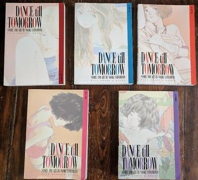 Dance Till Tomorrow Vols 1,2,3,4,5 by Naoki Yamamoto Published by Viz Pulp