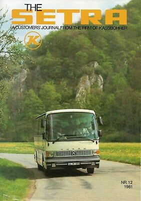 Kassbohrer Setra Customer Magazine No. 12 1981