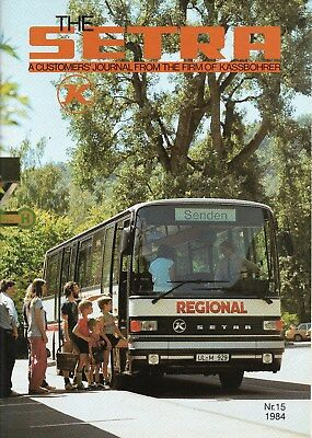 Kassbohrer Setra Customer Magazine No. 15 1984