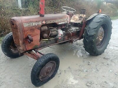 David Brown red 770 12 speed classic tractor project