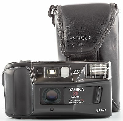 Yashica T3 super mit Carl Zeiss T* Tessar 2,8/35mm SHP 57227