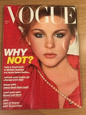 VOGUE MAGAZINE March 1978 Looks To Fall In Love With