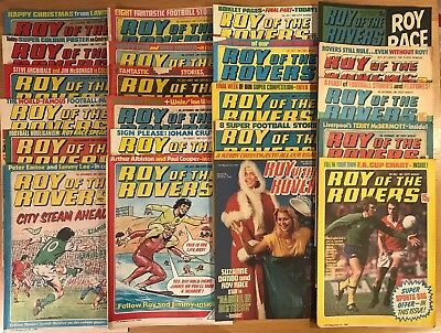 Roy of the Rovers comic 1979 - 1982  22x Issues  - in good condition
