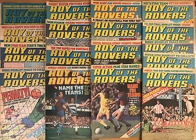 Roy of the Rovers comic January - April 1979 17 Issues  - in good condition