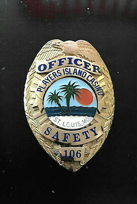 Players Island Casino, St. Louis, Missouri casino security badge