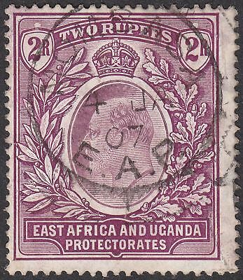 East Africa and Uganda 1906 KEVII 2r Dull and Bright Purple Used SG27 cat £75