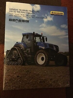 New Holland T8 Genesis US North American tractor brochure (Ford)