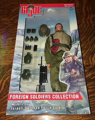 G I Joe~2001~ISRAELI DEFENCE FORCE~FOREIGN SOLDIERS COLECTION~NEW