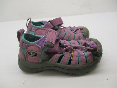 9b31ea5e49bc KEEN Sandals Toddler Size 8 Waterproof Strappy Purple  B2258