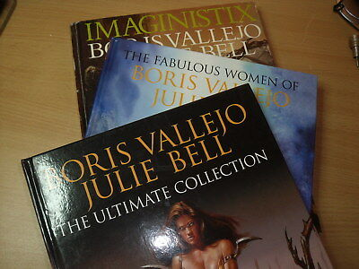 the fabulous women of boris vallejo and julie bell