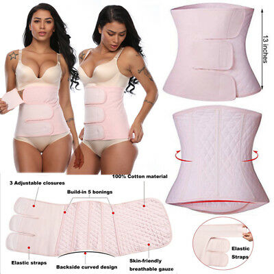 Women's POST Pregnancy Postnatal Recovery Belly Postpartum Wrap Band Girdle Belt
