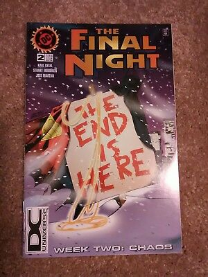 DC Comics The Final Night No. 2 Oct.1996 The End is Here Week Two: Chaos (VG)