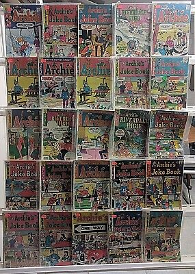Archie Comics Huge 25 Comic Book Collection Lot Set Run Books Box 5