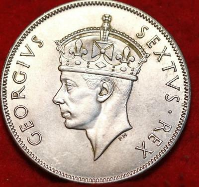 1952 East Africa 1 Shilling Foreign Coin