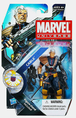 """MARVEL UNIVERSE Collection__CABLE 3.75 """" action figure_Series # 3_New & Unopened"""
