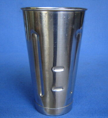 Replacement Stainless Steel Hamilton Beach Malt Milk Shake Mixer Cup Canister