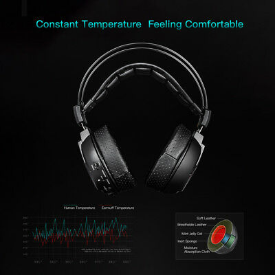 HUHD 2.4GHz Wireless Gaming Headset Stereo with Mic For XBOX 360/PS4/PC/MAC I3H3