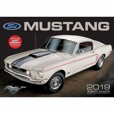 2019 Ford Mustang Large 2019 Wall Calendar, Mustang by Motorbooks