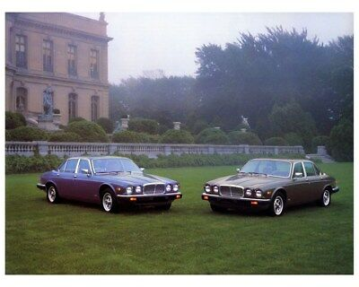 1984 Jaguar XJ6 & Vanden Plas Factory Photo ca3045