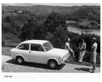 1966 Fiat 850 Coupe Factory Photo ca3860