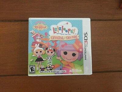 Brand New/Sealed Lalaloopsy: Carnival of Friends Nintendo 3DS Game