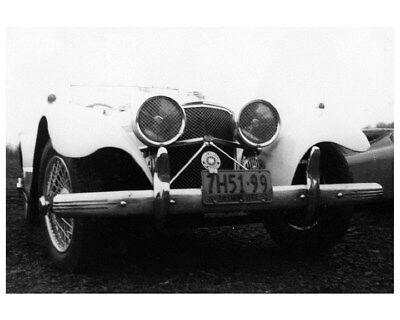 1938 Jaguar SS100 with 1951 New York License Plate Photo ca5055