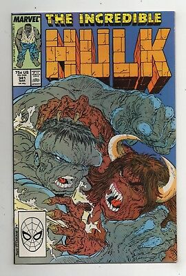 Marvel Comics The Incredible Hulk #341 Copper Age