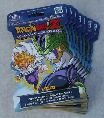 Panini Dragonball Z Awakening Starter Deck & 20 Booster Packs New & Sealed