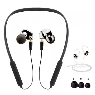 Bluetooth Headphones, Slim Lightweight Wireless Headset, IPX4 Sweatproof Sports