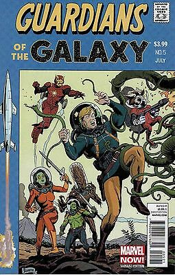 Guardians of the Galaxy #5 1:50 Paolo Rivera EC Homage Variant Marvel NOW 2012