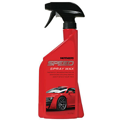 Mothers Polish 15724 24 Oz Bottle of Speed Spray Wax for Automobile Exteriors
