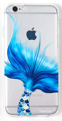Soft Phone Case Cover Mermaid Tail Pattern Protective Case for iPhone 6 / 6S