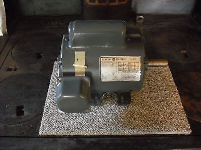 General Electric 5KC47RG6000 1 HP 1,725 rpm, 115/230 v, Single Phase Motor