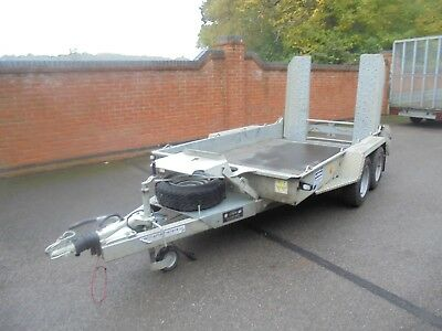 2017 Ifor Williams 10 Ft X 5 Ft 3.5 Ton Twin Axle Plant Trailer No Reserve Plus