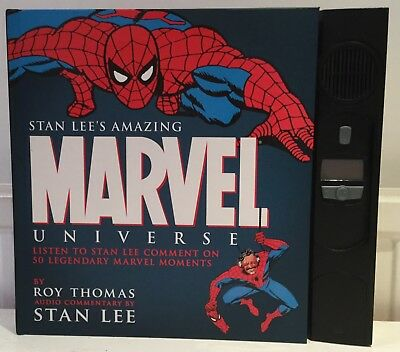 STAN LEE'S AMAZING MARVEL UNIVERSE : ROY THOMAS 2006 1st Ed NARRATED BY STAN LEE