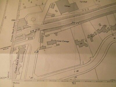 """Cooden & Cooden Beach-Bexhill-East Sussex- Land Tax 50""""Scale Plan:ordnance Map"""