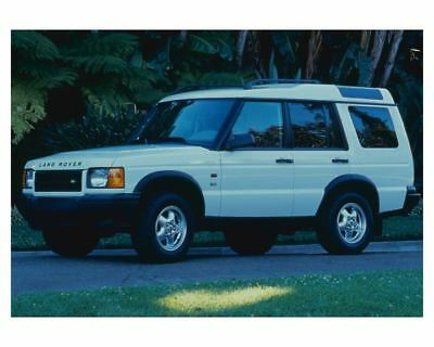 2001 Land Rover Discovery Series II SD Automobile Factory Photo ch4251