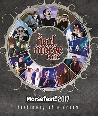 NEAL MORSE BAND-MORSEFEST 2017: THE TESTIMONY OF A DREAM (2PC) Blu-Ray NEW
