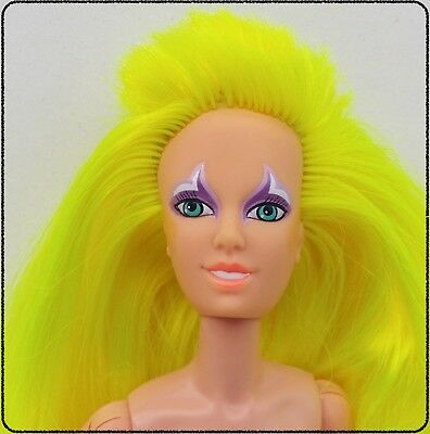 JEM AND THE HOLOGRAMS PIZZAZZ (Hasbro 1987) Nude doll