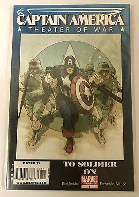 Marvel Comics One-Shot Captain America 'Theater Of War' 'To Soldier On' VF+