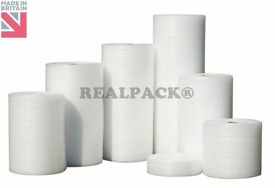 "REALPACK BRANDED 30"" 750mm x 100 M Bubble Wrap Small removals storage 100m"