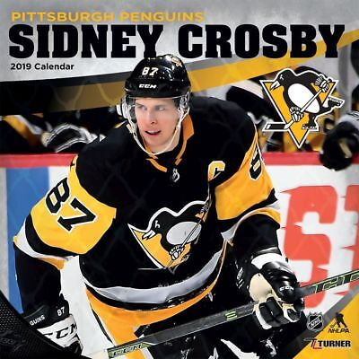 2019 Sidney Crosby Wall Calendar, Hockey by Turner Licensing
