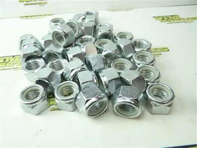 New! Lot Of Machinists Hardware Nuts Nylok M24 X 3.0