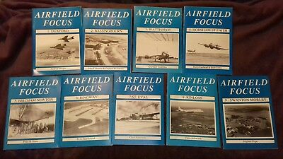 Airfield Focus Magazines. Issues 1 - 9