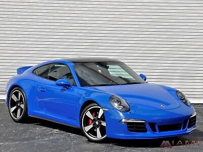 2016 Porsche 911 GTS CLUB COUPE 1 OF 60!! 2016 Porsche 911 Carrera GTS Club Coupe Limited Ed 4K Miles! PTS Color 1 of 60!!