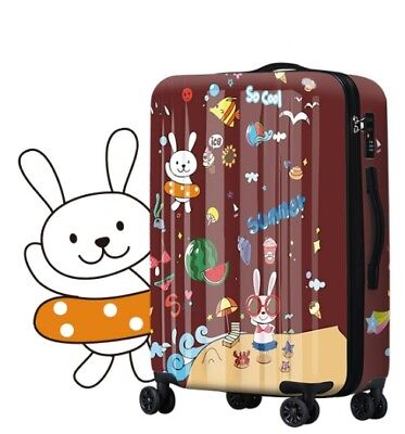 A488 Lock Universal Wheel ABS+PC Travel Suitcase Cabin Luggage 20 Inches W