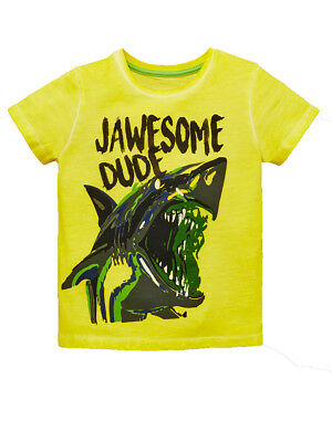 Mini V by Very Boys Jawsome Single T-shirt in Multi Size 18-24 Months