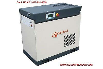 10 HP Rotary Screw Air Compressor-  42 CFM OUTPUT