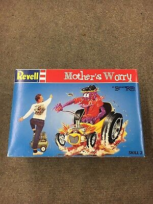 Excellent Rat Fink Model Mother's Worry Revell Ed Roth