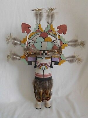 Large Old Style Hopi Indian Pahlik-Mana Kachina By Award Winner Anthony Monongye